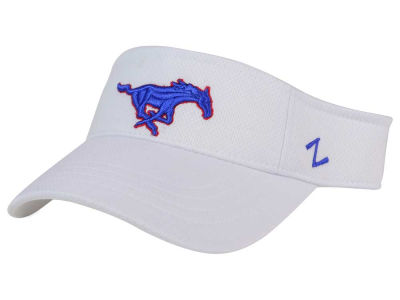 Southern Methodist Mustangs Zephyr NCAA Strongside Visor