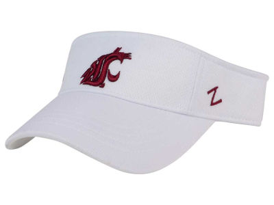 Washington State Cougars Zephyr NCAA Strongside Visor