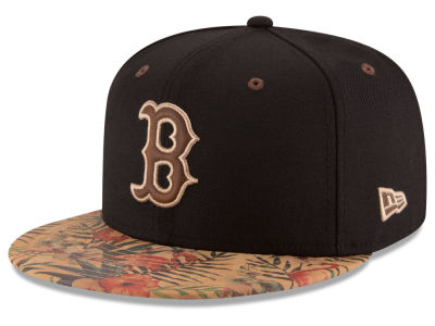 Boston Red Sox New Era MLB Smoove Trop 59FIFTY Cap
