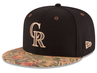 Colorado Rockies New Era MLB Smoove Trop 59FIFTY Cap