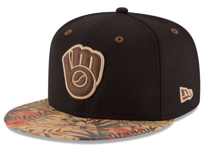 Milwaukee Brewers New Era MLB Smoove Trop 59FIFTY Cap