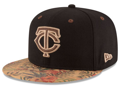 Minnesota Twins New Era MLB Smoove Trop 59FIFTY Cap