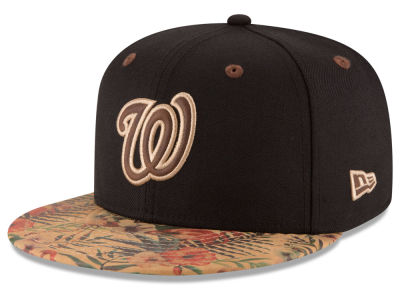 Washington Nationals New Era MLB Smoove Trop 59FIFTY Cap