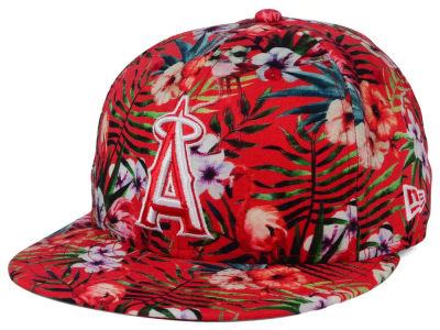 Los Angeles Angels New Era MLB Troppin Hot 9FIFTY Snapback Cap