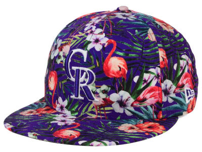 Colorado Rockies New Era MLB Troppin Hot 9FIFTY Snapback Cap