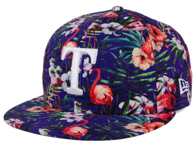 Texas Rangers New Era MLB Troppin Hot 9FIFTY Snapback Cap