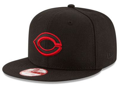 Cincinnati Reds New Era MLB Black Diamond 9FIFTY Snapback Cap