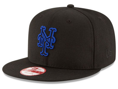 New York Mets New Era MLB Black Diamond 9FIFTY Snapback Cap