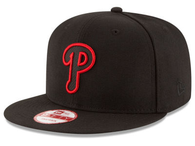 Philadelphia Phillies New Era MLB Black Diamond 9FIFTY Snapback Cap