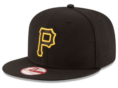 Pittsburgh Pirates New Era MLB Black Diamond 9FIFTY Snapback Cap
