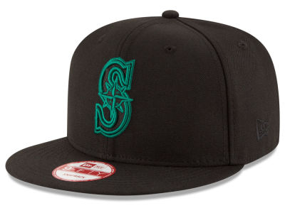 Seattle Mariners New Era MLB Black Diamond 9FIFTY Snapback Cap