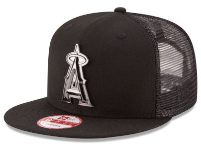 Los Angeles Angels New Era MLB Metal Trucker 9FIFTY Snapback Cap
