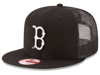Boston Red Sox New Era MLB Metal Trucker 9FIFTY Snapback Cap