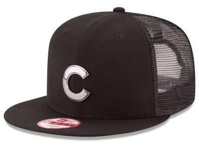 Chicago Cubs New Era MLB Metal Trucker 9FIFTY Snapback Cap