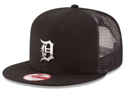 Detroit Tigers New Era MLB Metal Trucker 9FIFTY Snapback Cap