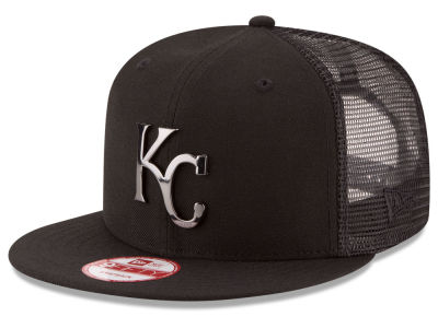 Kansas City Royals New Era MLB Metal Trucker 9FIFTY Snapback Cap