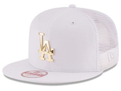 Los Angeles Dodgers New Era MLB Metal Trucker 9FIFTY Snapback Cap