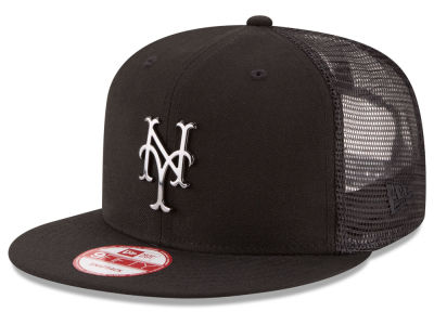 New York Mets New Era MLB Metal Trucker 9FIFTY Snapback Cap