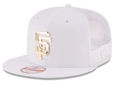 San Francisco Giants New Era MLB Metal Trucker 9FIFTY Snapback Cap