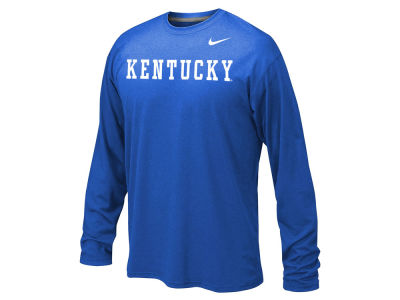 Kentucky Wildcats Nike NCAA Youth Legend Wordmark Long Sleeve T-Shirt
