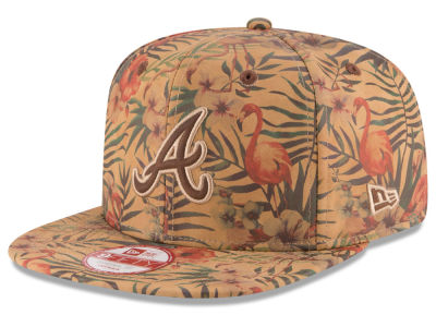 Atlanta Braves New Era MLB Vintage Trop 9FIFTY Snapback Cap