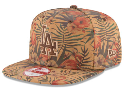 Los Angeles Dodgers New Era MLB Vintage Trop 9FIFTY Snapback Cap