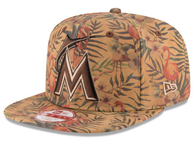 Miami Marlins New Era MLB Vintage Trop 9FIFTY Snapback Cap
