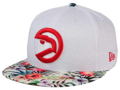 Atlanta Hawks New Era NBA HWC White Out Trop 9FIFTY Snapback Cap