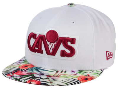 Cleveland Cavaliers New Era NBA HWC White Out Trop 9FIFTY Snapback Cap