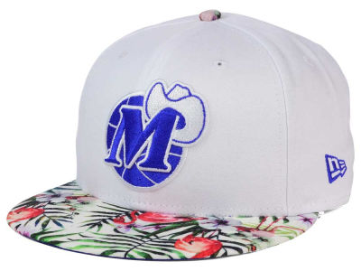 Dallas Mavericks New Era NBA HWC White Out Trop 9FIFTY Snapback Cap