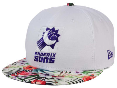 Phoenix Suns New Era NBA HWC White Out Trop 9FIFTY Snapback Cap