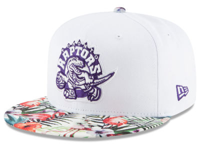 Toronto Raptors New Era NBA HWC White Out Trop 9FIFTY Snapback Cap