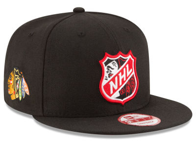 Chicago Blackhawks New Era  NHL Team Shield 9FIFTY Snapback Cap