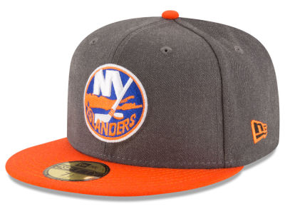 New York Islanders New Era NHL Team Heather Patch 59FIFTY Cap
