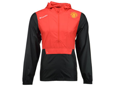 Manchester United Columbia Men's Club Team Flashback Windbreaker Jacket