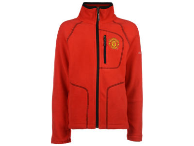 Manchester United Columbia Club Team Youth Fast Trek Full Zip Fleece Jacket