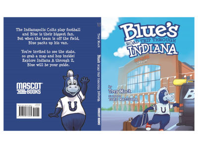 Indianapolis Colts Book-Blue's Road Trip Through Indiana
