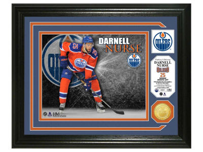 Edmonton Oilers Darnell Nurse Photo Mint Coin-Bronze