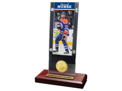 Edmonton Oilers Darnell Nurse Ticket and Coin Acrylic