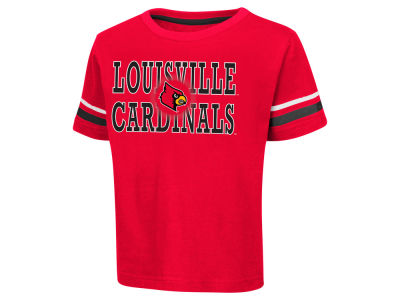 Louisville Cardinals Colosseum NCAA Toddler Touch Down T-Shirt