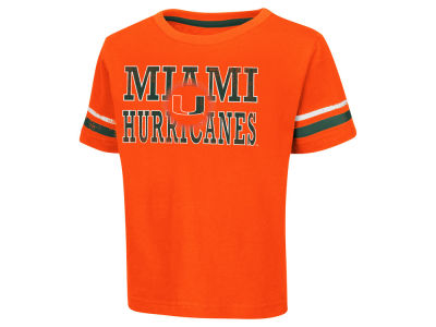 Miami Hurricanes Colosseum NCAA Toddler Touch Down T-Shirt