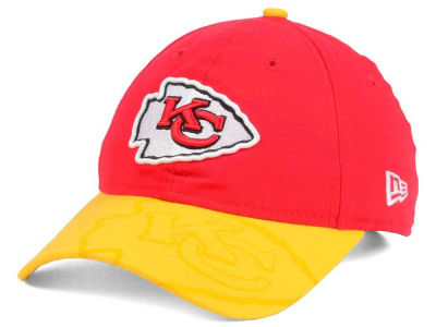Kansas City Chiefs New Era 2016 Women's NFL Sideline LS 9TWENTY Cap