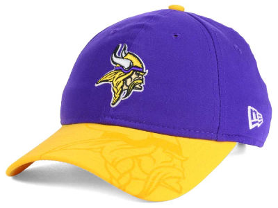 Minnesota Vikings New Era 2016 Women's NFL Sideline LS 9TWENTY Cap