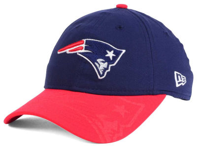 New England Patriots New Era 2016 Women's NFL Sideline LS 9TWENTY Cap