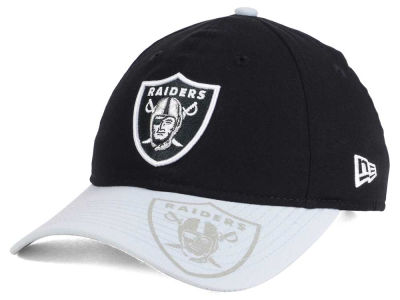 Oakland Raiders New Era 2016 Women's NFL Sideline LS 9TWENTY Cap