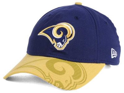 Los Angeles Rams New Era 2016 Women's NFL Sideline LS 9TWENTY Cap