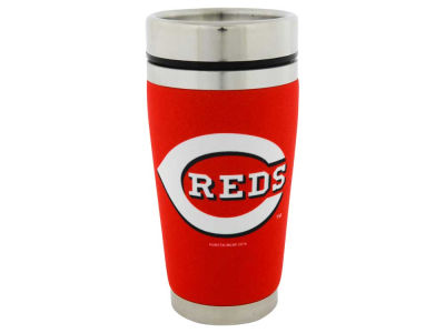 Cincinnati Reds 16oz Stainless Steel Travel Tumbler