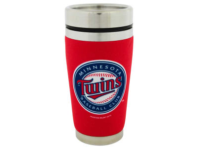 Minnesota Twins 16oz Stainless Steel Travel Tumbler