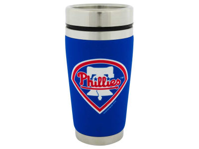 Philadelphia Phillies 16oz Stainless Steel Travel Tumbler