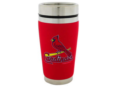 St. Louis Cardinals 16oz Stainless Steel Travel Tumbler
